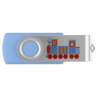 Memoria USB de encargo del eslabón giratorio del Pen Drive Giratorio USB 2.0