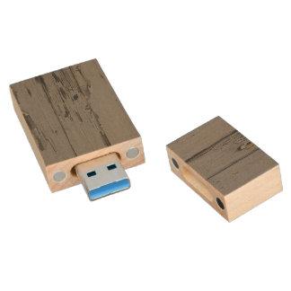 Memoria USB de madera de los tablones Memoria USB 3.0 De Madera