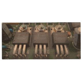 Memoria USB de madera de USB del circuito del Pen Drive De Madera USB 3.0