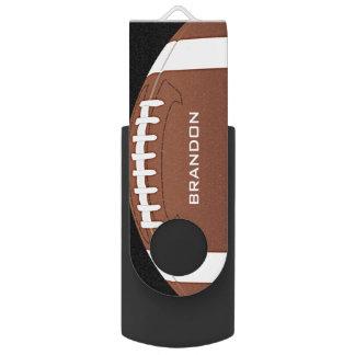 Memoria USB del diseño del fútbol