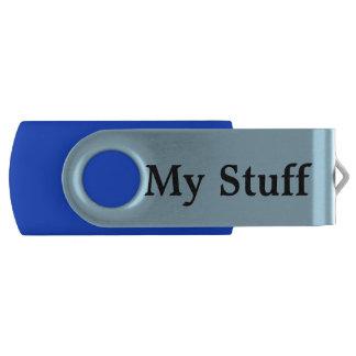 """Memoria USB del eslabón giratorio con """"mi materia Memoria USB 3.0 Giratoria"""