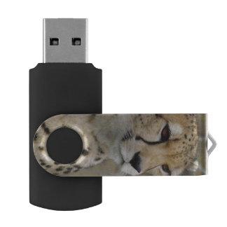 Memoria USB del guepardo Memoria USB 2.0 Giratoria