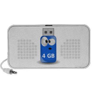 Memoria USB del ordenador Laptop Altavoz