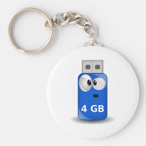 Memoria USB del ordenador Llavero Personalizado