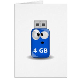 Memoria USB del ordenador Tarjetón