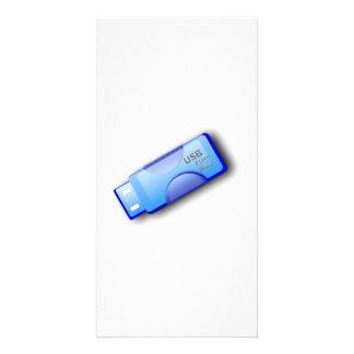 Memoria USB del ordenador Tarjeta Fotográfica Personalizada