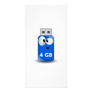 Memoria USB del ordenador Tarjetas Con Fotos Personalizadas