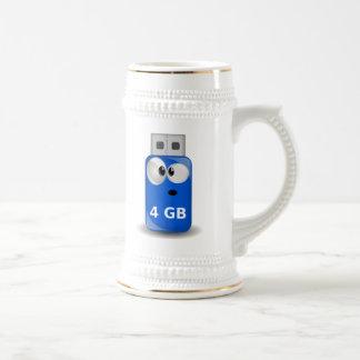 Memoria USB del ordenador Jarra De Cerveza