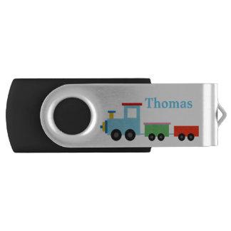 Memoria USB del tren del juguete