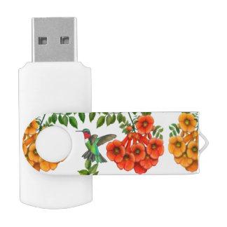 Memoria USB Throated de rubíes de USB 32GB del