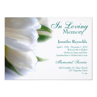 Memorial Invitations & Announcements | Zazzle