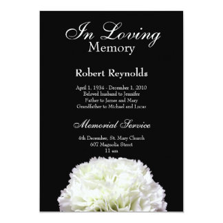 Remembrance Invitations & Announcements | Zazzle