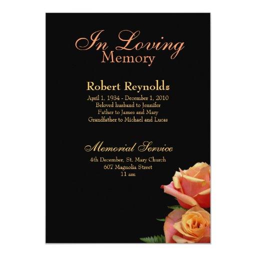 Memorial / Announcement