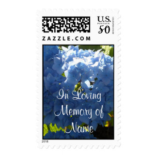 Memorial Blue Hydrangea Postage