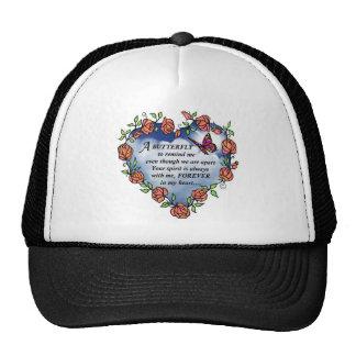 Memorial Butterfly Poem Trucker Hats