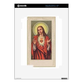 Memorial cards depicting Jesus iPad 2 Skin
