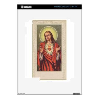 Memorial cards depicting Jesus iPad 3 Skin