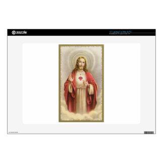 Memorial cards depicting Jesus Decal For Laptop