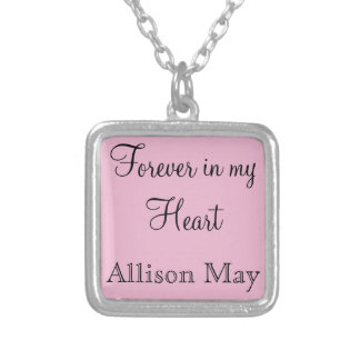 Memorial Charm for Wedding Bouquet in Pink Jewelry
