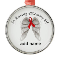 Memorial Christmas Ornament  AIDS Awareness