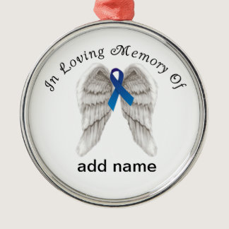 Memorial Christmas Ornament Colon  Cancer