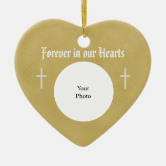 Memorial Christmas Ornament - Heart