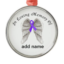 Memorial Christmas Ornament Pancreatic Cancer