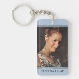 Memorial - Clouds - We Know You Would Be With Us Double-Sided Rectangular Acrylic Keychain