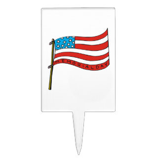 Memorial Day 10 png Rectangle Cake Toppers