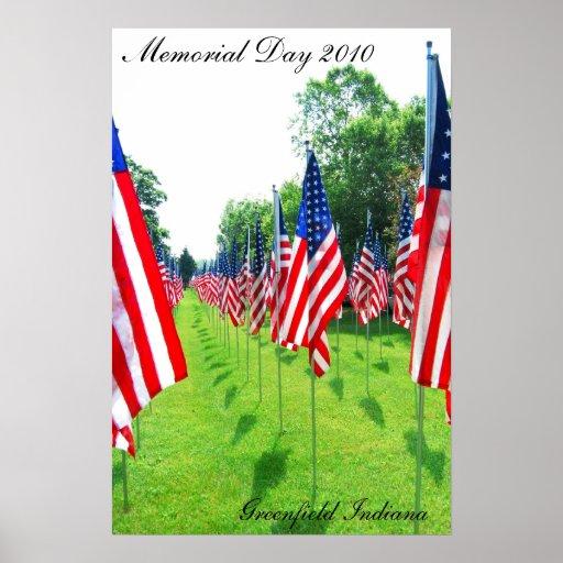 Memorial Day 2010, pradera Indiana Impresiones