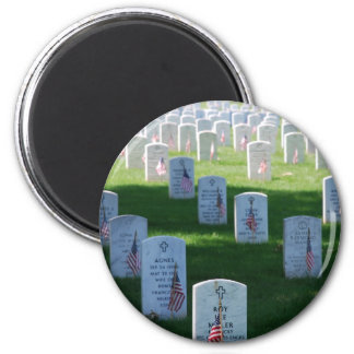 Memorial Day 2 Inch Round Magnet