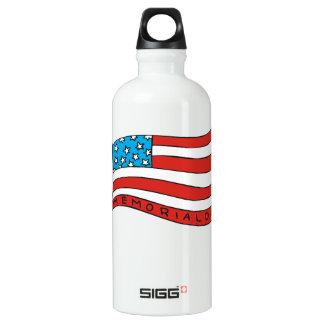 Memorial Day Aluminum Water Bottle