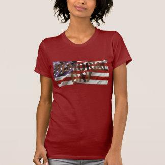 Memorial Day American Flag T-shirt
