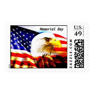 Memorial Day art Stamps