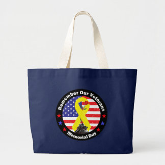 Memorial Day Canvas Bags