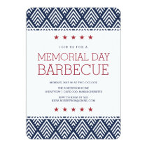 Memorial Day Barbecue Party Card
