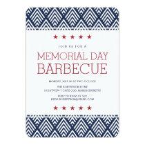 Memorial Day Barbecue Party Invitation