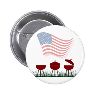 Memorial Day Barbeque Cookout Pins