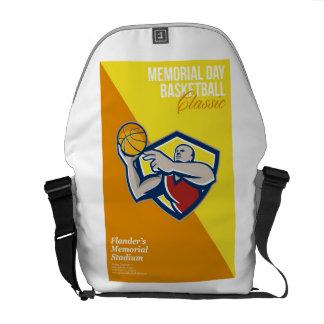 Memorial Day Basketball Classic Poster Messenger Bag