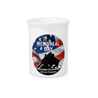 Memorial Day Beverage Pitcher
