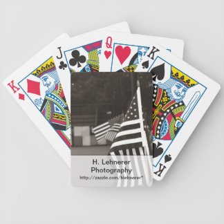 Memorial Day Bicycle Playing Cards