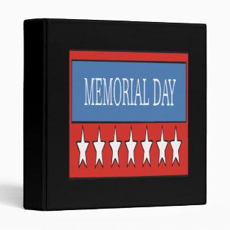 Memorial Day 3 Ring Binders