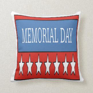 Memorial Day Cojines