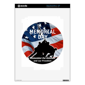 Memorial Day Decal For The iPad 2