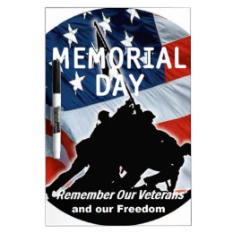 Memorial Day Dry-Erase Board