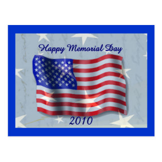 Memorial Day feliz 2010 Tarjetas Postales