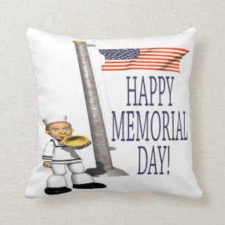 Memorial Day feliz Cojines