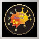 Memorial Day feliz Impresiones