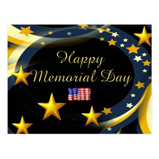 Memorial Day feliz Postal