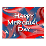 Memorial Day feliz Tarjetas Postales